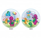 "22"" Barney Bubble Balloon"