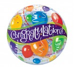 "22"" Congrats Bubble Balloon"