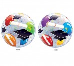 "22"" Graduation Bubble Balloon"