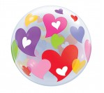 "22"" Luv Hearts Bubble Balloon"
