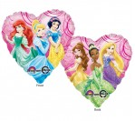 "18"" Disney Princess Heart Shape Foil Balloon"