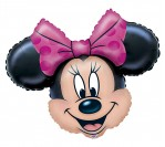"28"" Minnie Head Foil Balloon"