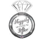 "28"" Happily Ever After Foil Balloon"