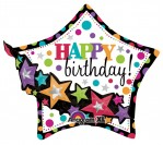 "27"" Happy Birthday Garland Foil Balloon"