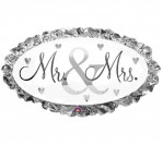 "32"" Mr. & Mrs. Foil Balloon"