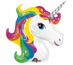 "33"" Unicorn Rainbow Foil Balloon"