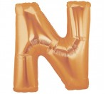 "40"" Gold N Letter Balloon"
