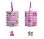 Fun@1Girl Lantern Garland W Danglers 3.65m Long