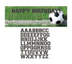 Sports Fanatic Soccer Personalized Giant Party Banner (152.4cm X 50.8cm)