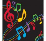 Dancing Music 3ply Napkins (16pcs/pkt)