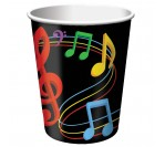 Dancing Music 9oz hot/cold cups (8pcs/pkt)