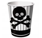 Pirate Party 9oz hot/cold cups (8pcs/pkt)