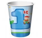 Fun@1Boy 9oz hot/cold cups (8pcs/pkt)