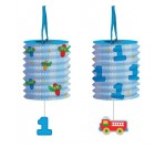 Fun@1Boy Lantern Garland W Danglers 3.65m Long