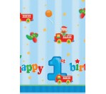 Fun@1Boy Plastic Tablecover 137cm X 254cm (1pc/pkt)