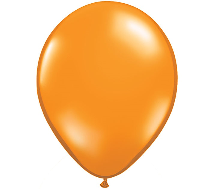 "12"" Standard Orange Latex Balloons"